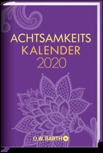 Cover Achtsamkeitskalender 2020